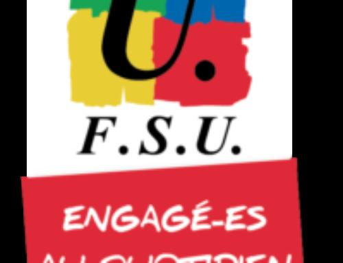 Déclaration FSU au CSE du 30 juin 2020