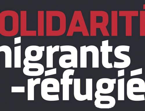 Contre l'extrême-droite : solidarité avec les réfugié-e-s le 27 octobre