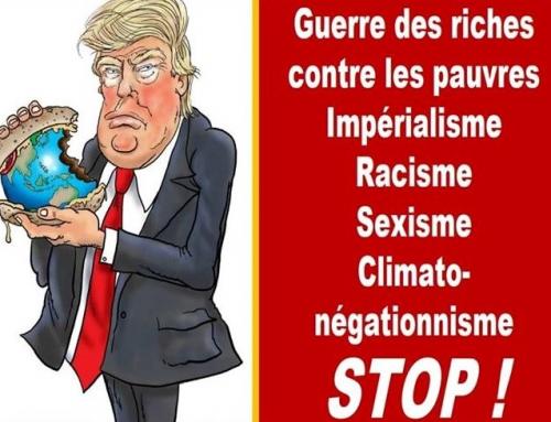 Trump n'est pas le bienvenu le 6 juin en Normandie!