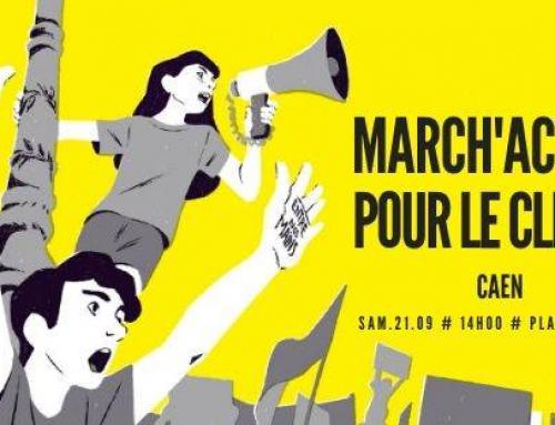 Journée mondiale des marches pour le climat, samedi 21 septembre à 14 heures Place Fontette