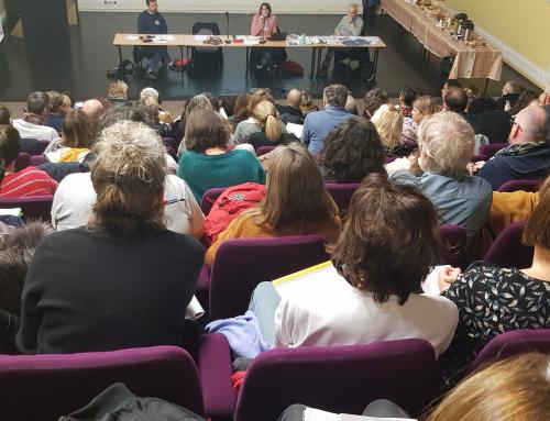 Vœu de l'Assemblée générale de l'Éducation nationale du Calvados à l'initiative de l'Intersyndicale FSU, CGT Educ'Action, snFOlc, Sud Education, Sncl.