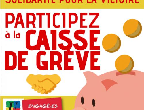 Caisse de solidarité avec les cheminot.e.s du Calvados