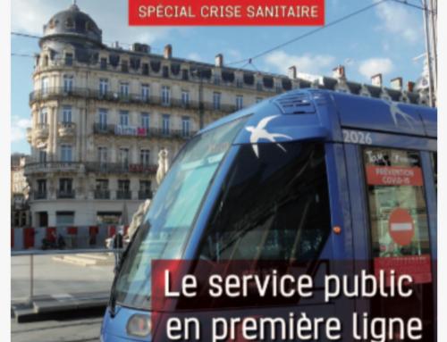 Crise sanitaire: le service public en première ligne