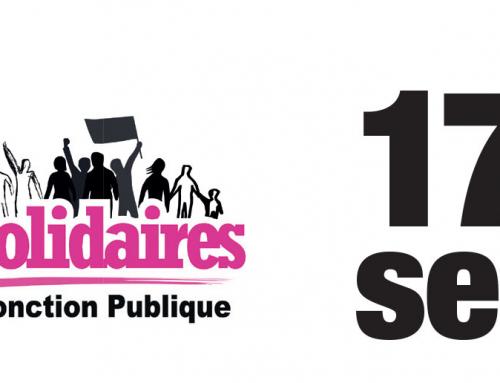 Appel intersyndical au 17 septembre : Mobilisé·es dans la Fonction publique