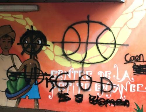 Face aux inscriptions néo-nazies à l'université Caen-Normandie : Appel à une riposte antifasciste, l'extrême-droite n'a pas sa place sur nos lieux d'étude et dans nos vies !