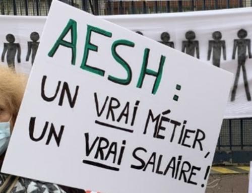 Mobilisation des AESH le 19 octobre