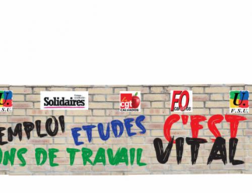 Le 5 octobre : mobilisé-es pour nos salaires, nos emplois et nos conditions de travail et d'études !